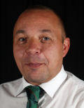 Image shows Andy Brown, Assistant Referees Secretary for the Kent Youth Football League